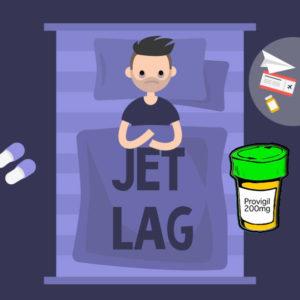 provigil for jet lag
