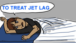 Provigil to treat jet lag