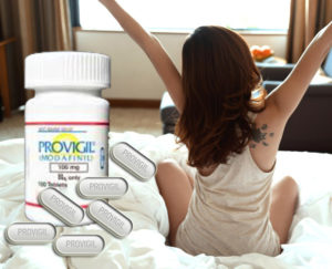 wake up with Provigil